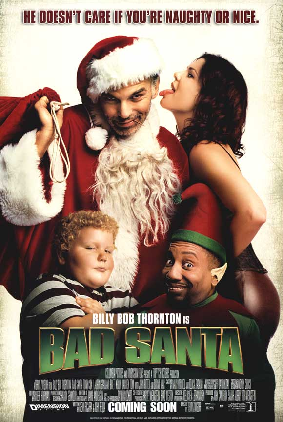 Image result for Bad Santa 2003