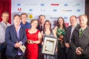 Australian Screen Editors Award Winners 2012