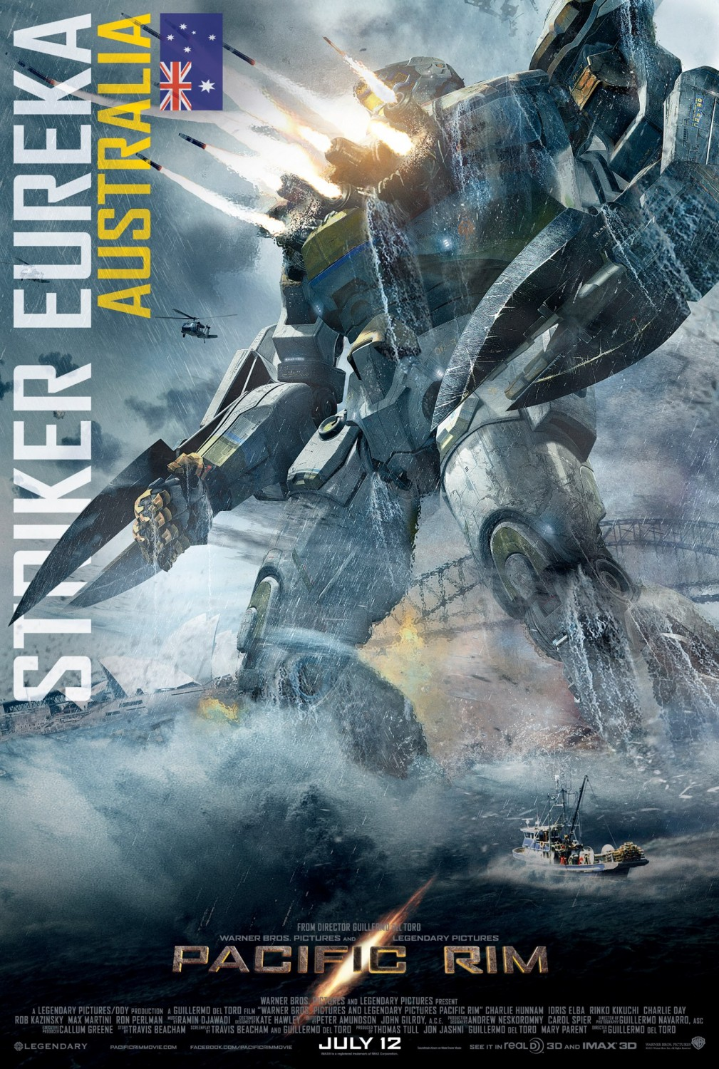 Film Review: Pacific Rim (2013) | Film Blerg Pacific Rim 2013