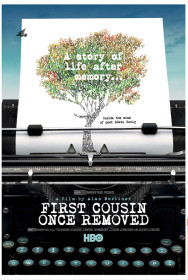 first cousin once removed poster