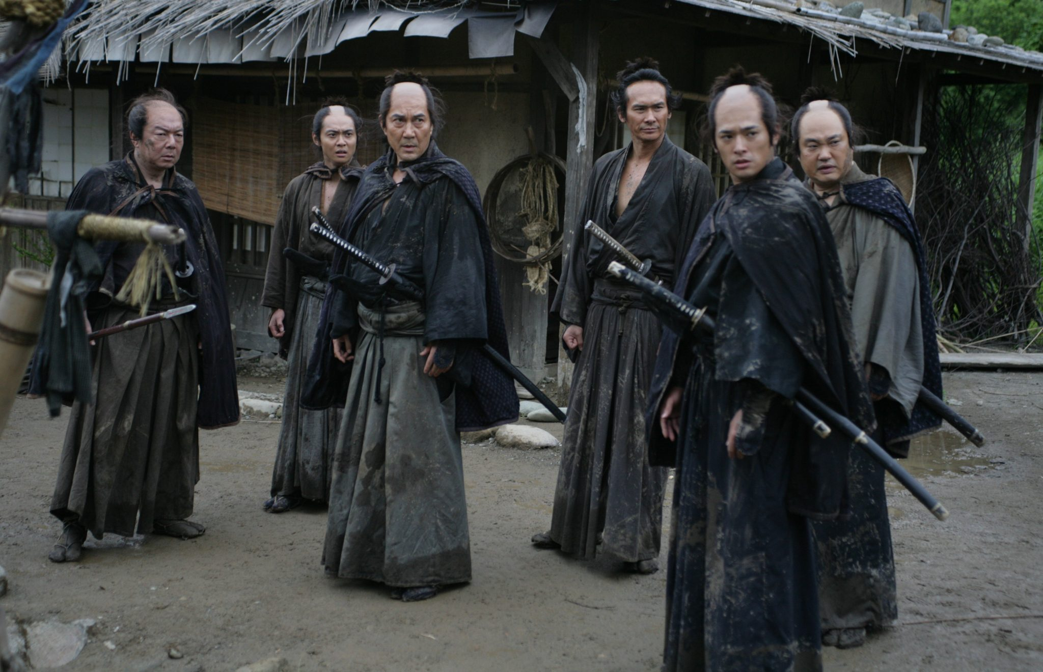 Seven of Takeshi Miike's 13 assassins