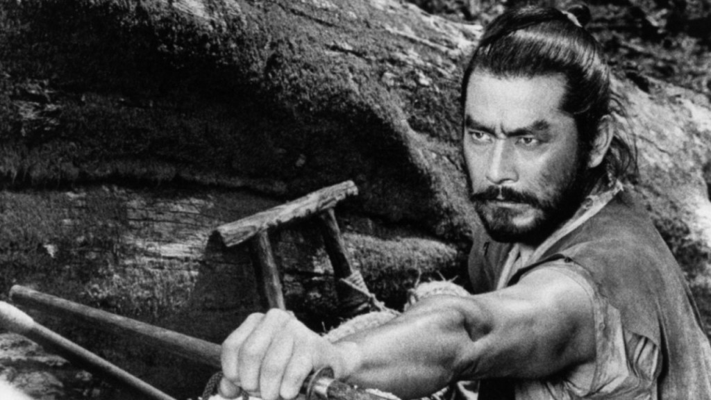 Kurosawa regular Toshiro Mifune delivers another charismatic, highly physical performance.