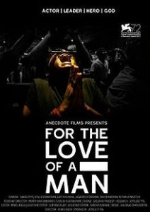 For the Love of a Man poster