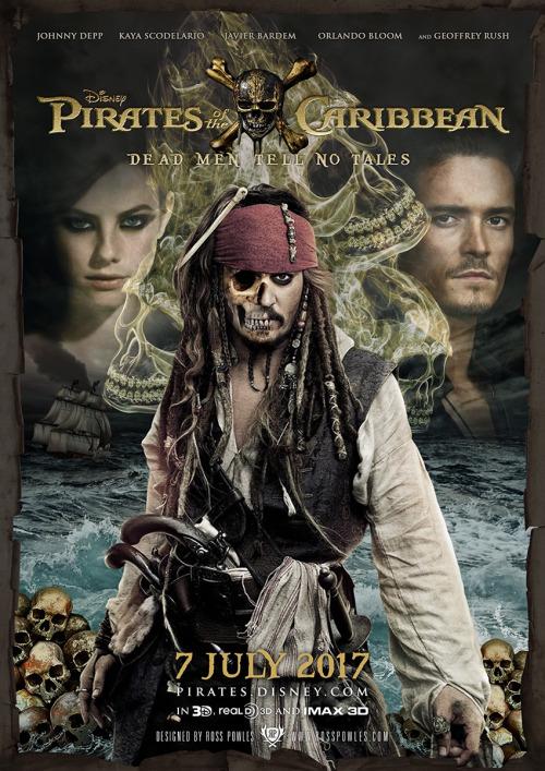 Resultado de imagen para Pirates of the Caribbean: Dead Men Tell No Tales movie poster