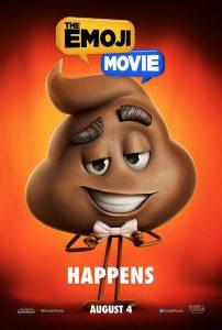 The Emoji movie poster